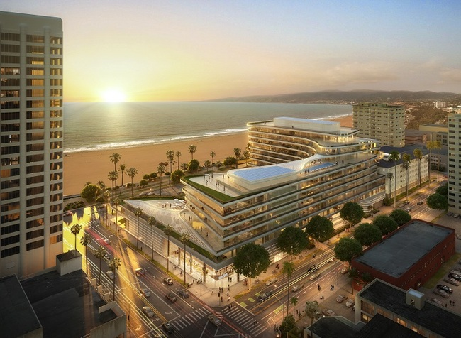 Santa Monica's Fairmont Hotel reveals new plan for 9-figure remodel plan