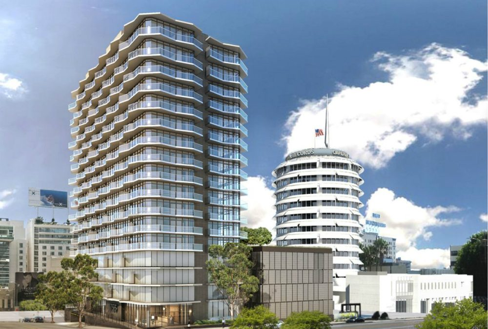 $1 Billion Development Proposed Surrounding the Capitol Records Building