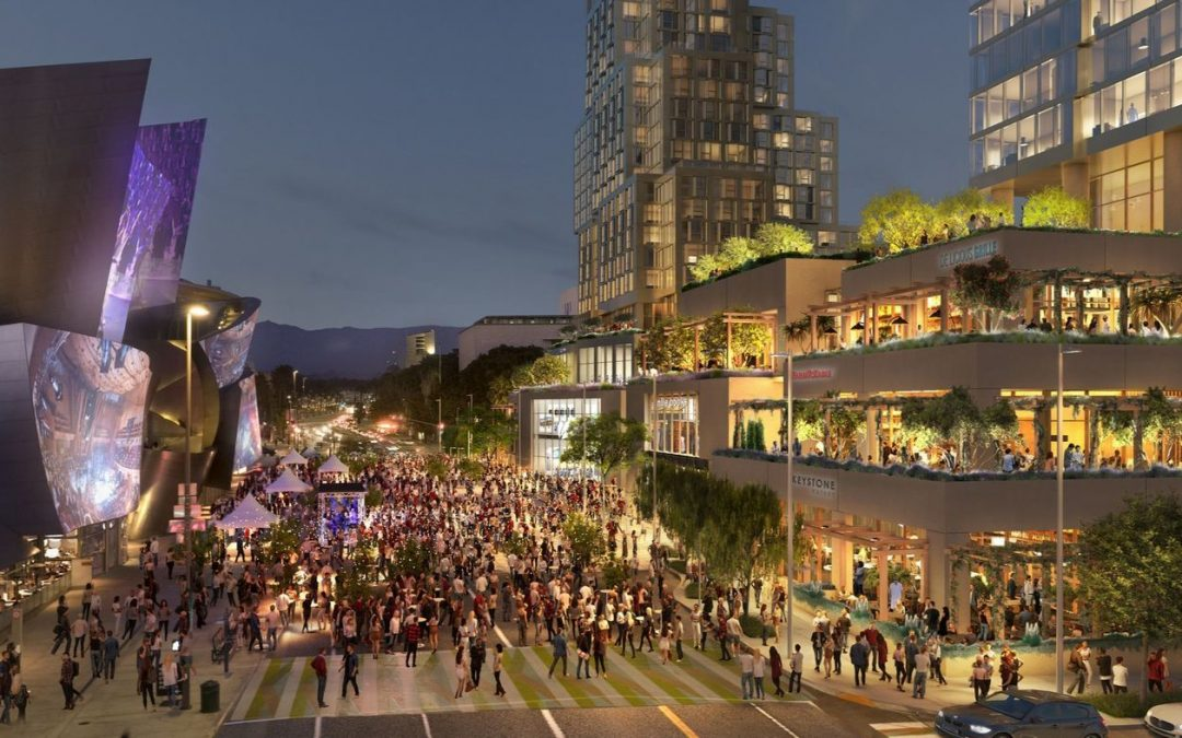 Massive Grand Avenue project in downtown LA funded, construction to start shortly