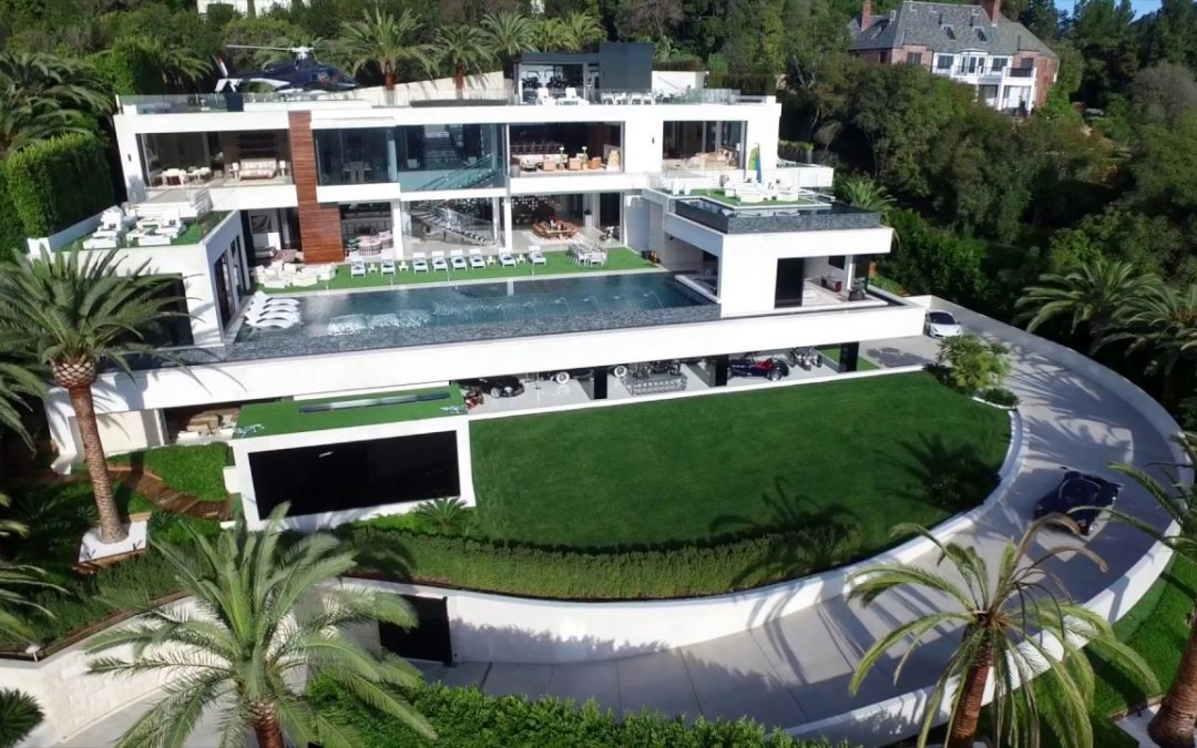 'Billionaire' Bel-Air Mansion by Bruce Makowsky back on the Market for $150 Million