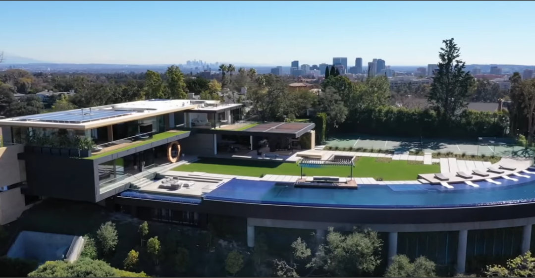 Amazing modern home in Bel Air hits the market at $48,000,000