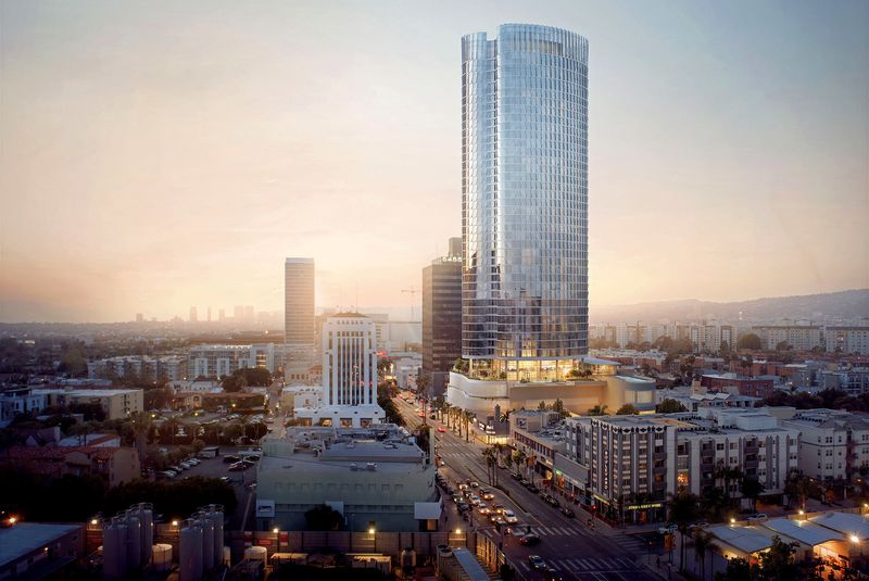 42-story High Rise Planned for La Brea Avenue in Mid-Wilshire